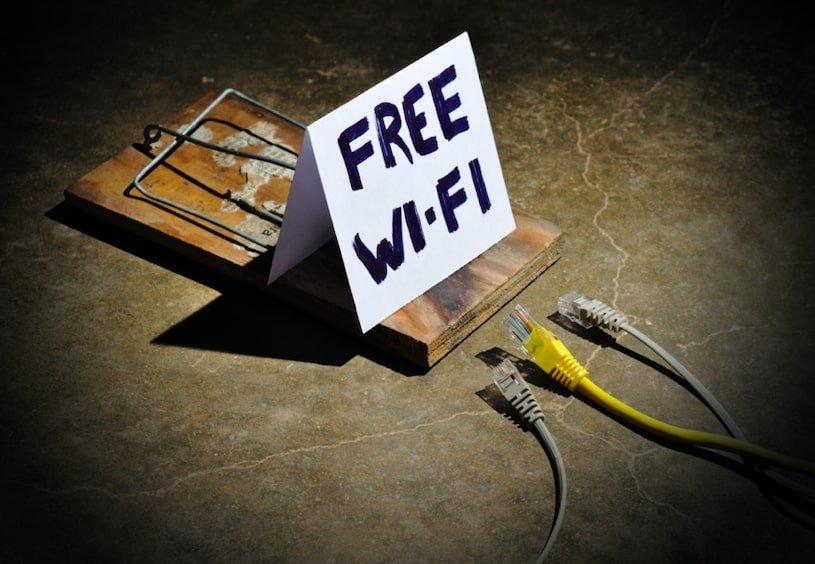 éviter le wifi public