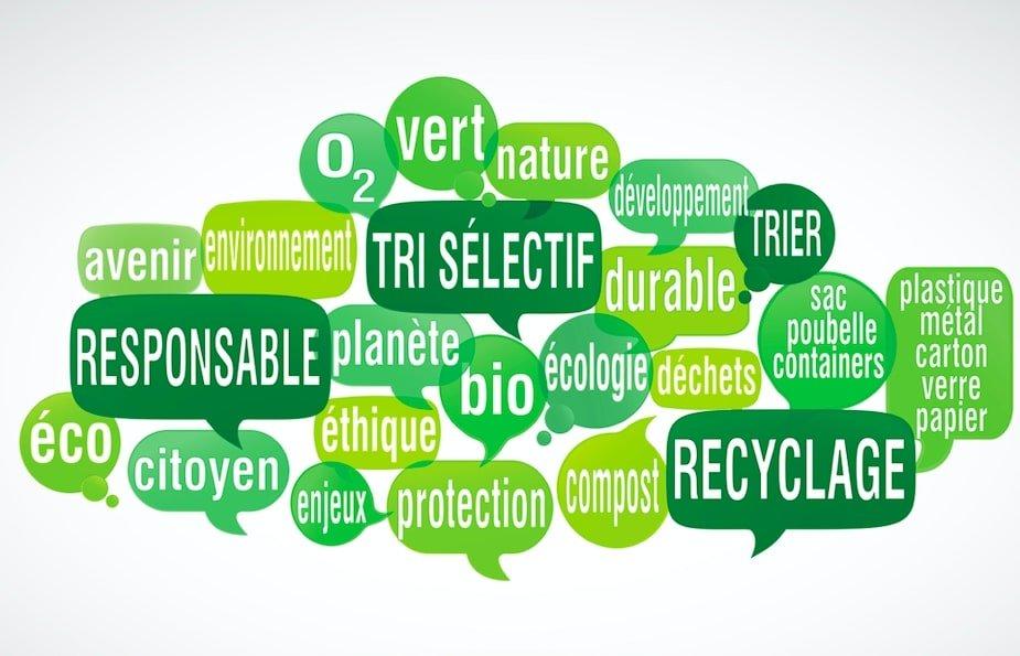 nuage de mots-cles- sur l'ecologie