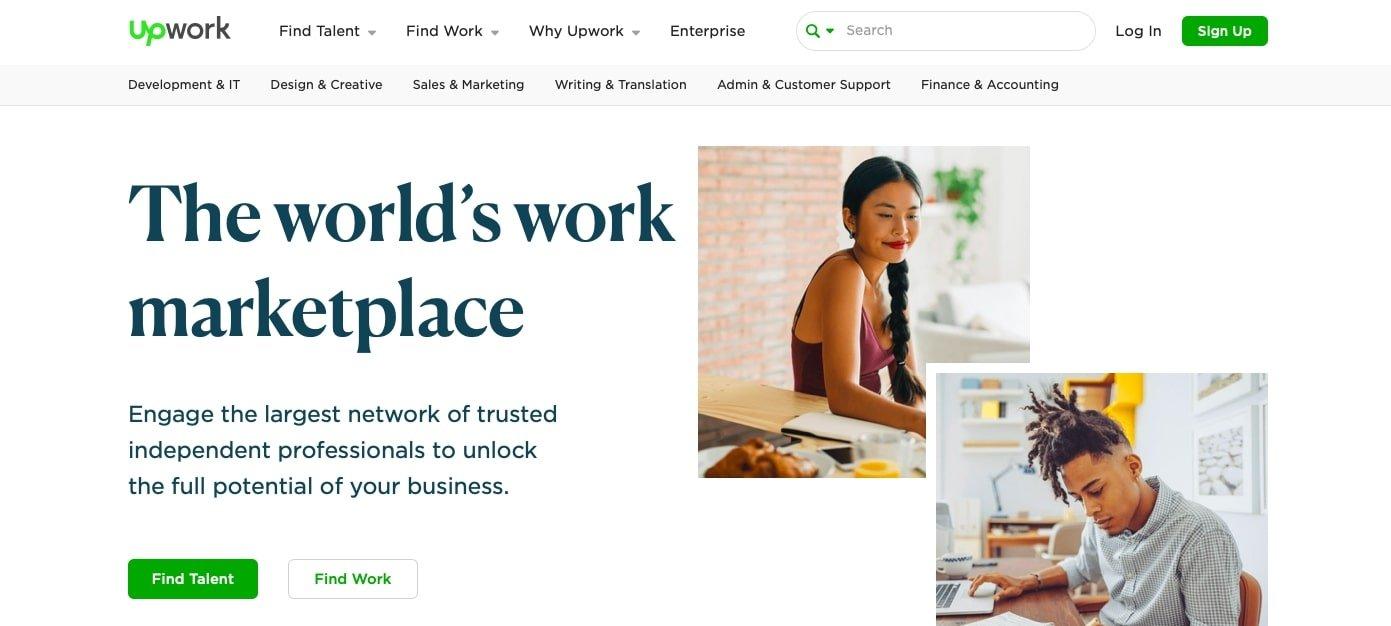 Plateforme pour freelance