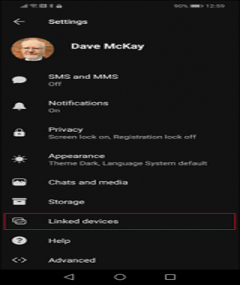 tuto installer signal sur linux appareil connecté