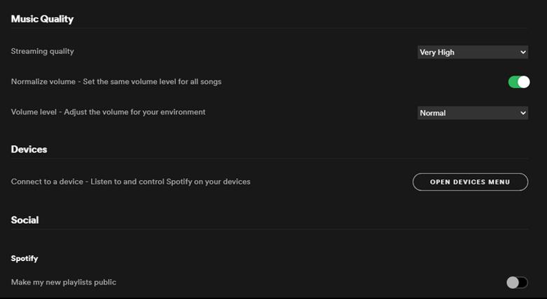 qualité son Spotify astuce