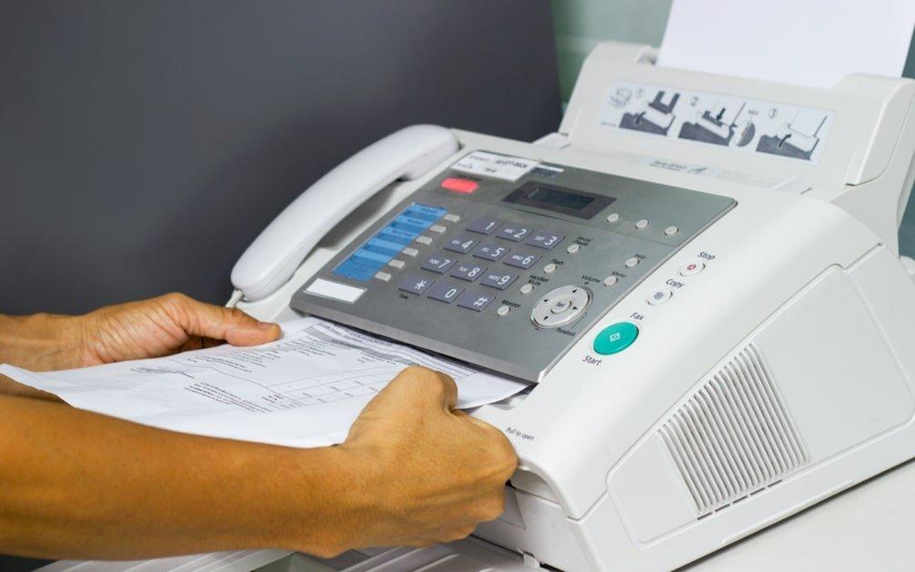 outils du passé le fax