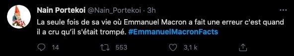 #EmmanuelMacronFacts