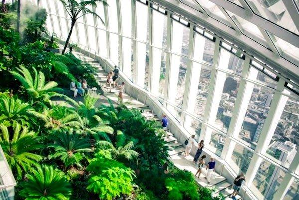 immeuble vert écologique