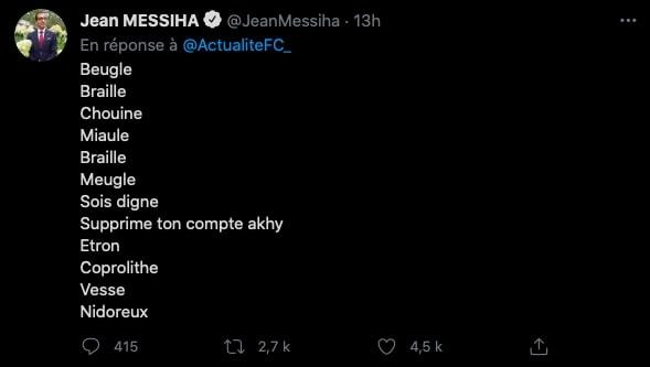 jargon Pessi Jean MESSIHA