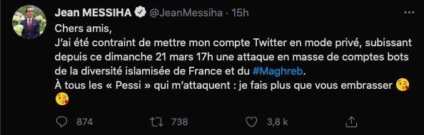Pessi Jean MESSIHA attaque