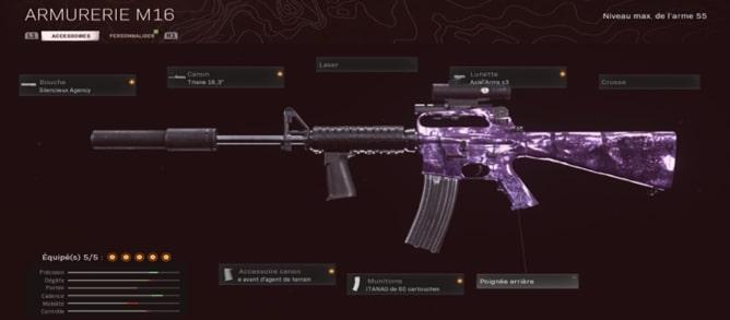 classe M16 skyrroz