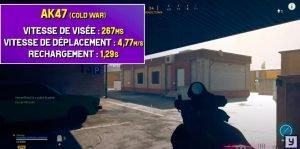 classe ak47 cold war warzone