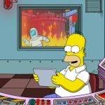 homer simpson meme central feu template