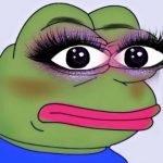 meme frog maquillage femme grenouille
