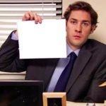 meme jim the office vierge a remplir
