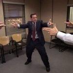 meme office serie Michael Scott