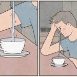 meme pleure tasse