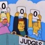 meme simpson vote 0