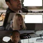 meme the rock conversatio voiture