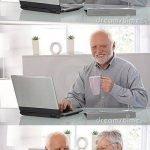meme vieux ordinateur femme