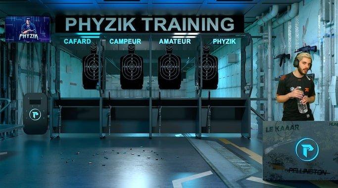 physik salle entrainement