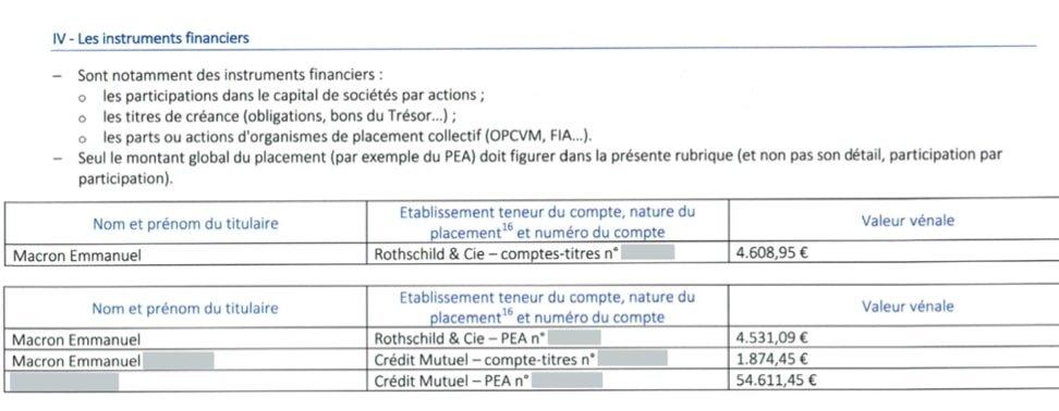 macron action pfizer actionnaire banque