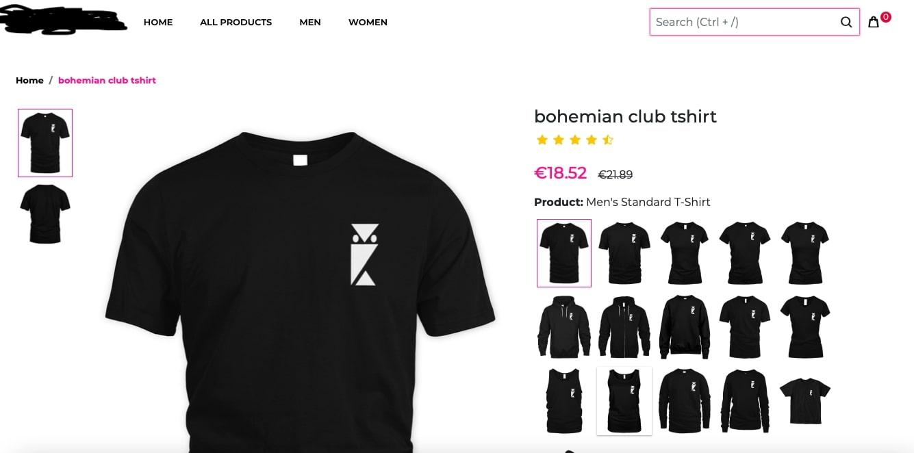 bohemian club t-shirt macron