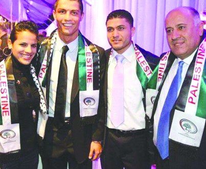 ronaldo palestine don