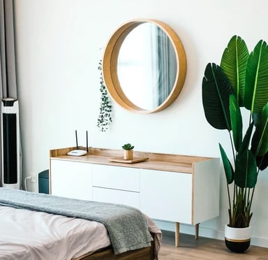 miroir maison chambre