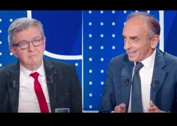 zemmour mélenchon débat replay