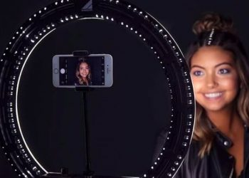 lumiere selfie influenceur